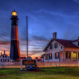 Reid Callaway - Nite Light Tybee Island Lighthouse Art