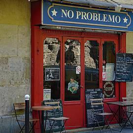 Richard Rosenshein - No Problemo Bar And Restaurant in the Montmarte Area Of Paris, France