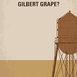 No795 My Whats Eating Gilbert Grape minimal movie poster - Chungkong Art