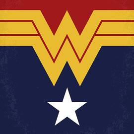 No825 My Wonder Woman minimal movie poster - Chungkong Art
