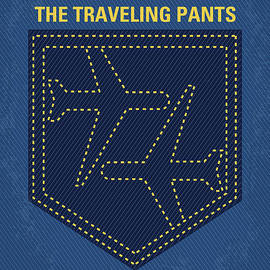 No826 My The Sisterhood of the Traveling Pants minimal movie poster - Chungkong Art