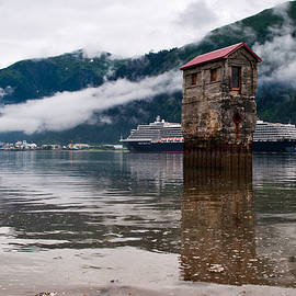 Noordam Passing the Pump House by Cathy Mahnke