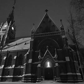 David Broome - Nordic Neo-Gothic Winter Cathedral
