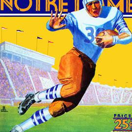 Big 88 Artworks - Notre Dame Versus Northwestern 1930 Program