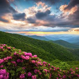 North Carolina Blue Ridge Parkway Scenic Landscape Asheville NC by Dave Allen
