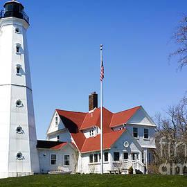 North Point Lighthouse  by Ricky L Jones