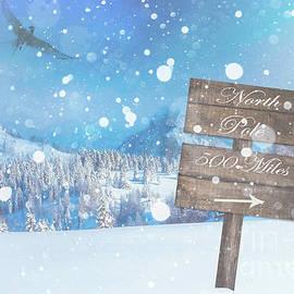 KaFra Art - North Pole Sign