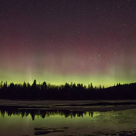 Northern Lights Km 53  by Steve Dunsford