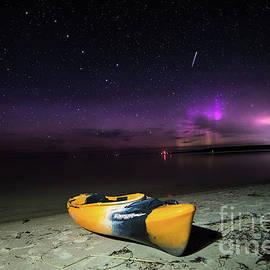 Northern Lights  Wilderness State Park -3853  Pure Michigan by Norris Seward