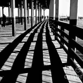 Carol F Austin - Nostalgic Walk on the Pier