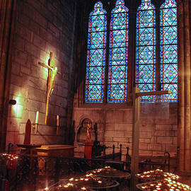 Notre Dame Candles by Ross Henton