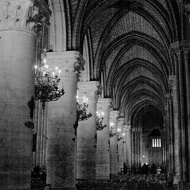 Notre Dame de Paris, France by Ravichandra Akaram