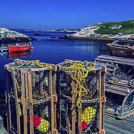 Sally Weigand - Nova Scotia Fishing Scene
