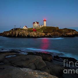 Felix Lai - Nubble Lighthouse After Sunset, Maine, Long Exposure
