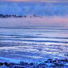 Joann Vitali - Nubble Lighthouse in Winter - York, Maine