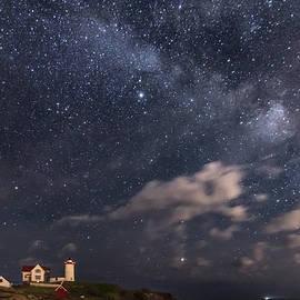 Kristen Wilkinson - Nubble Lighthouse under the Milky Way