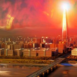 Mario Carini - Nuclear Sky Over Seoul