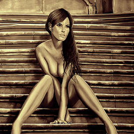 Nude City Beauty Sepia by Paul Meijering
