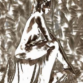 Mario Carini - Nude in Contemplation