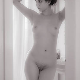 Mike Penney - Nude in the bathroom