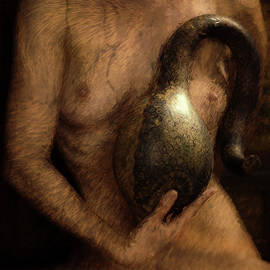 Mike Penney - Nude with Gourd