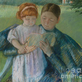 Nurse Reading to a Little Girl - Mary Stevenson Cassatt