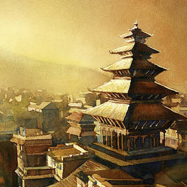 Ryan Fox - Nyatapola Temple- Nepal