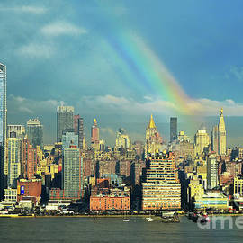 Regina Geoghan - NYC April Rainbow