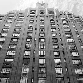 Matt Harang - NYC Building - Window Reflections - Black and White