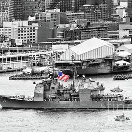 Regina Geoghan - NYC Fleet Week-USS John S McCain