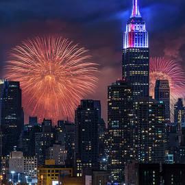 Susan Candelario - NYC Fourth Of July Fireworks