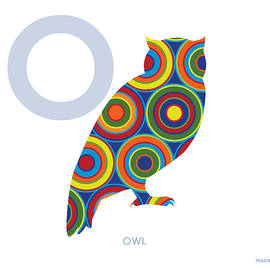 O is for Owl - Ron Magnes