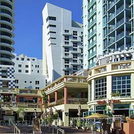 Lyuba Filatova - Ocean Drive hotels and buildings on Miami Beach, Florida