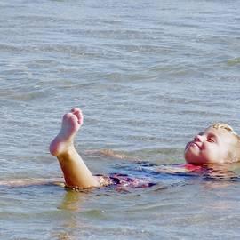 Ocean Floaty by Alida M Haslett