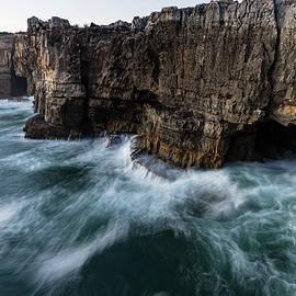 Georgia Mizuleva - Ocean Rush - Boca Do Inferno - Hells Mouth - Seacliff Chasm at Cascais Portugal