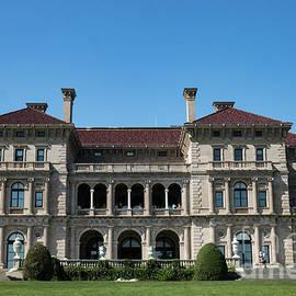 Ocean Side The Breakers Vanderbilt Mansion Newport Rhode Island by Wayne Moran