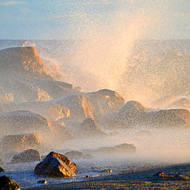 Ocean Spray - Cape Cod Bay by Dianne Cowen Photography