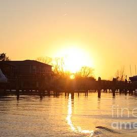 John Telfer - Oceanside Ny Spring Sunset After Fishing