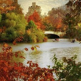 October in Central Park by Jessica Jenney