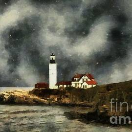 RC deWinter - October Night, Portland Head