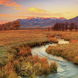 October sunrise in Heber Valley. by Johnny Adolphson