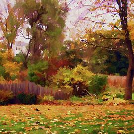 Betsy Zimmerli - October Yard