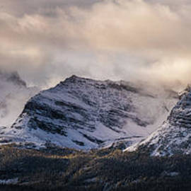 Odaray Mountain Range Canadian Rockies - Mike Reid