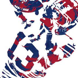 Joe Hamilton - Odell Beckham Jr NEW YORK GIANTS PIXEL ART 5