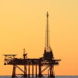 Offshore Oil And Gas Platform  by Bradford Martin