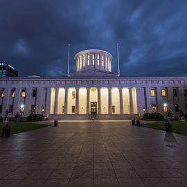 Ohio Capital Blue Hour by John McGraw
