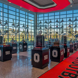 Ohio State Football Trophy Collection by Scott McGuire