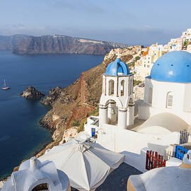 Oia Views, Santorini Greece by Brad Scott