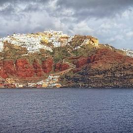 Oia Village Santorini by Adam Rainoff