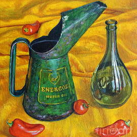 Tilly Willis - Oil Can with Red
